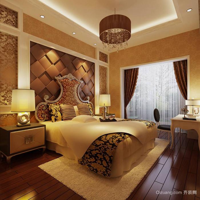 山水国际别墅古典风格装修效果图实景图