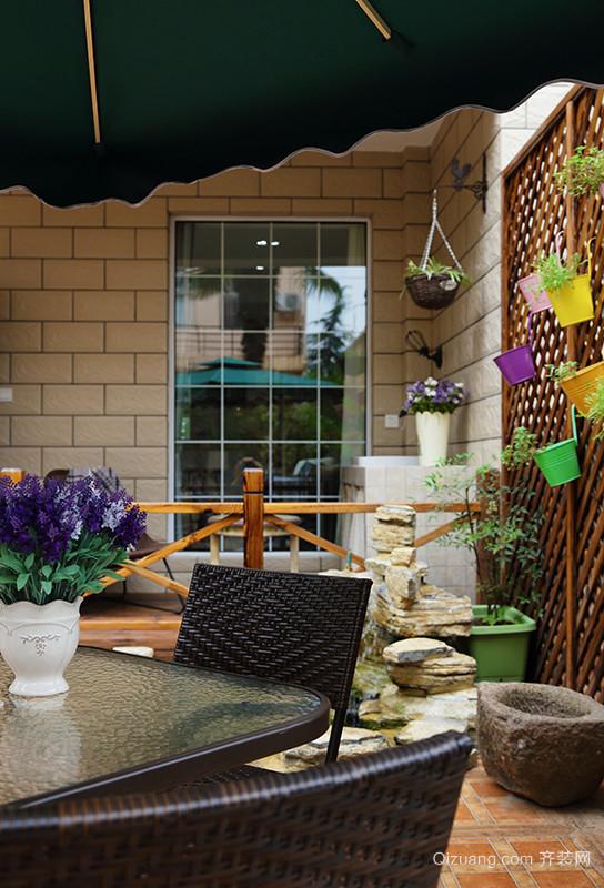 自建房美式风格装修效果图实景图