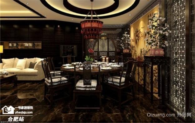 饭店装修古典风格装修效果图实景图