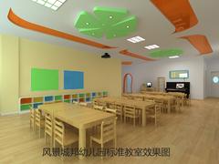 风景城邦幼儿园标准教室