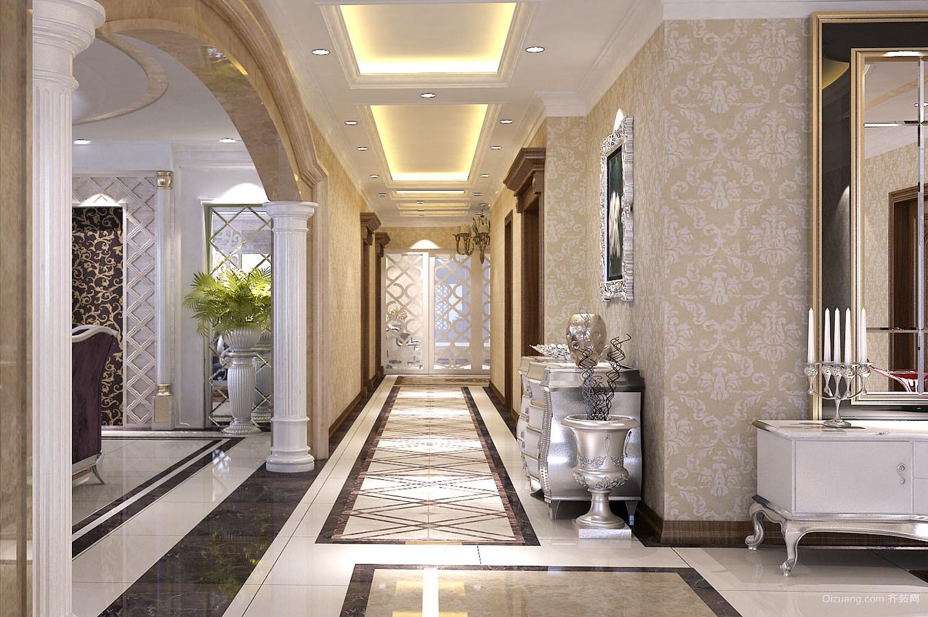 420平米装修户型欧式家装图片跃层风格v户型-邢蒙古包设计图图片