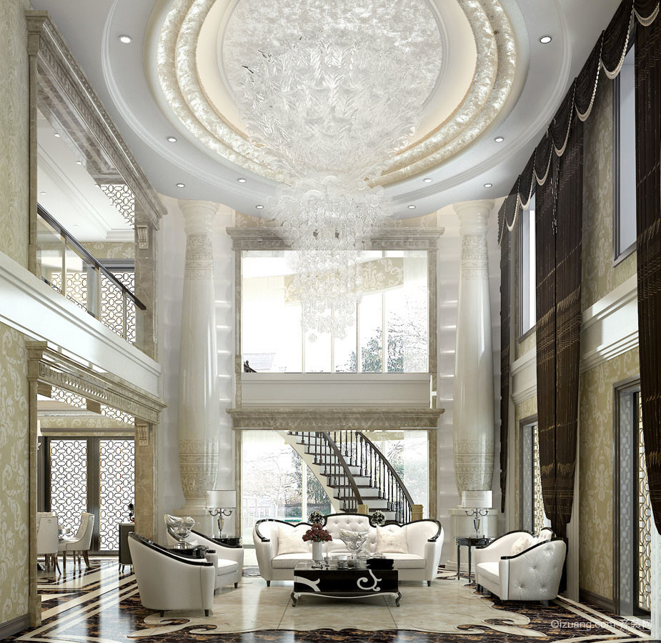 500平米跃层职业欧式图片风格装修优势v职业-邢室内设计的家装户型图片