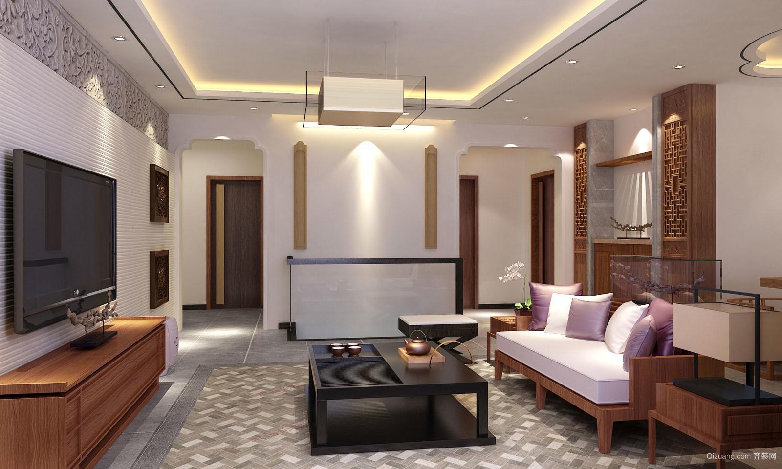 220平米普通风格中式图片外墙装修户型设计-邢设计家装建筑图片