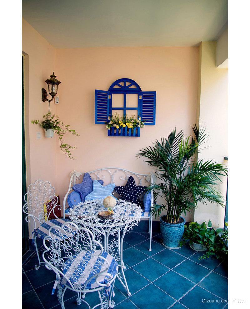 万达旅游城地中海风格装修效果图实景图