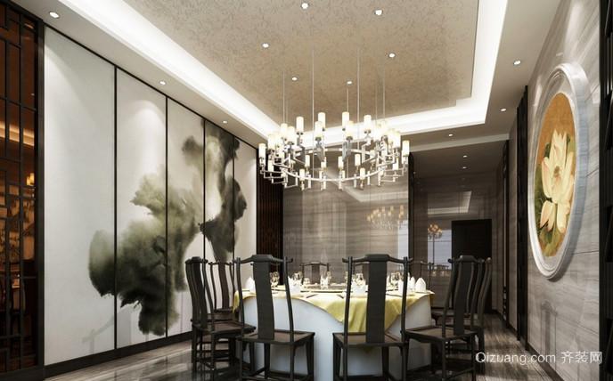 饭店古典风格装修效果图实景图