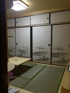 富园景都榻榻米房间实景图