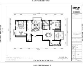 唐山帝景豪庭176平米简欧的恢弘