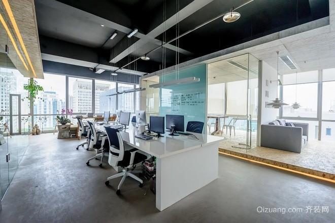 上海良友大厦项目现代简约装修效果图实景图