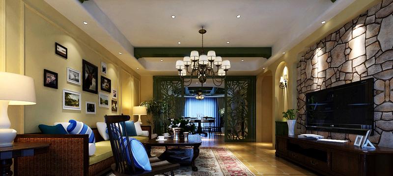 精美大方的别墅型欧式餐厅装修效果图