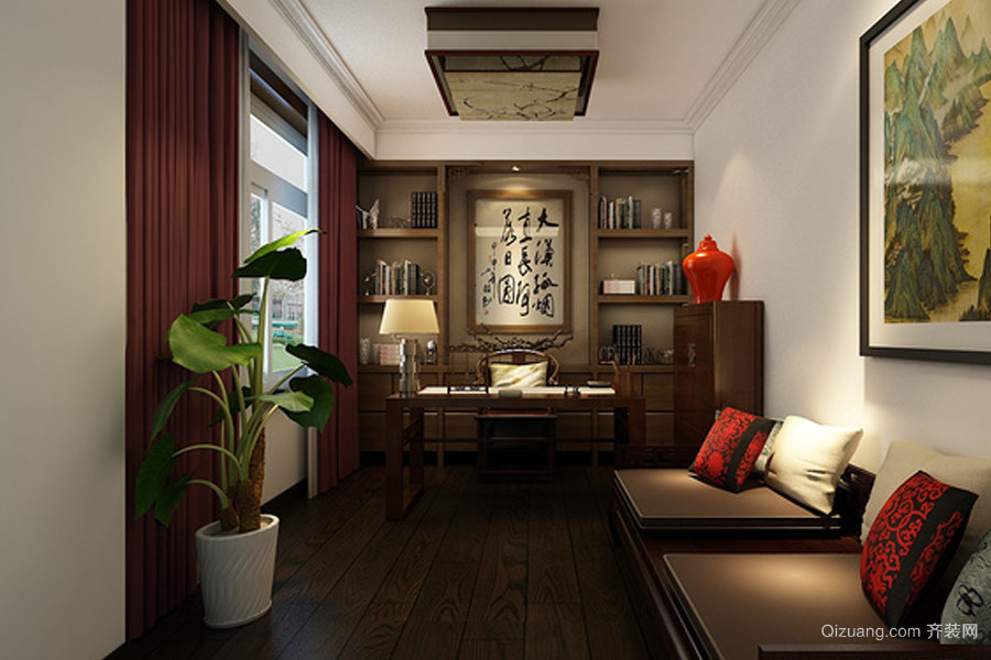 中式风格中式风格装修效果图实景图