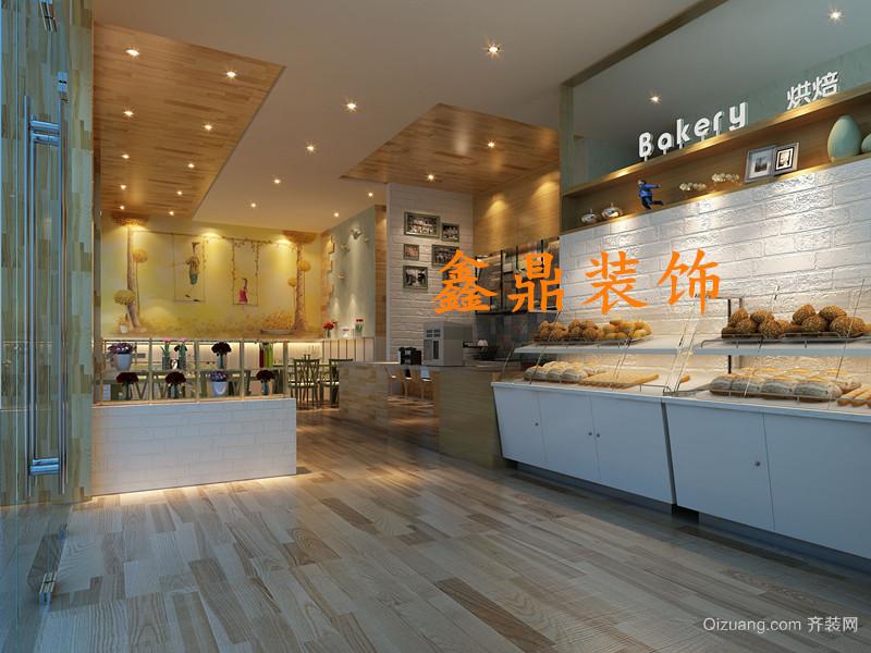 江滨蛋糕房现代简约装修效果图实景图