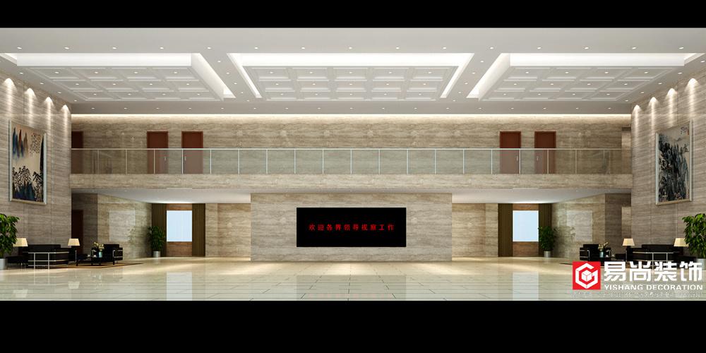 雨帆办公大楼混搭风格装修效果图实景图