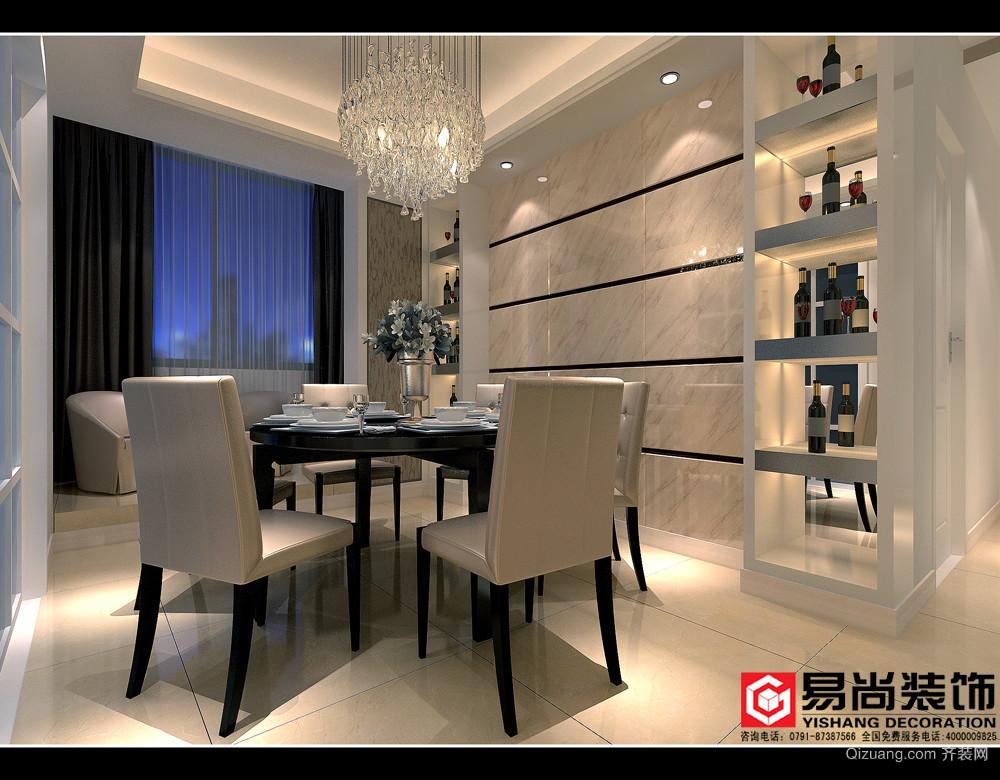 中海朝阳郡现代简约装修效果图实景图