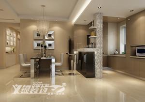 中央城85平米两居室简约设计效果图