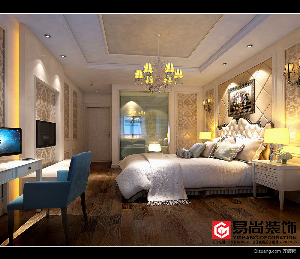 老城客栈主题宾馆混搭风格装修效果图实景图