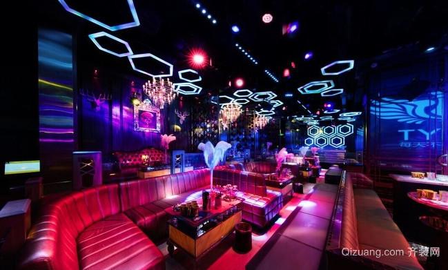酒吧混搭风格装修效果图实景图
