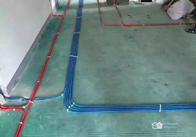 金科廊桥水乡水电完工现代简约装修效果图实景图
