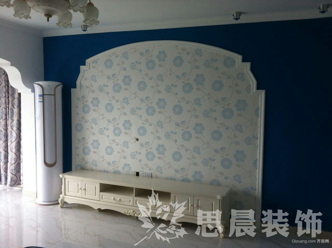 九龙湖新区古典风格装修效果图实景图