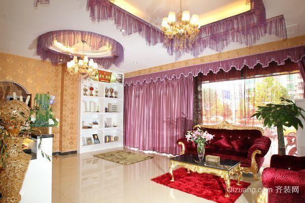 洛涛居南区商铺欧式风格装修效果图实景图