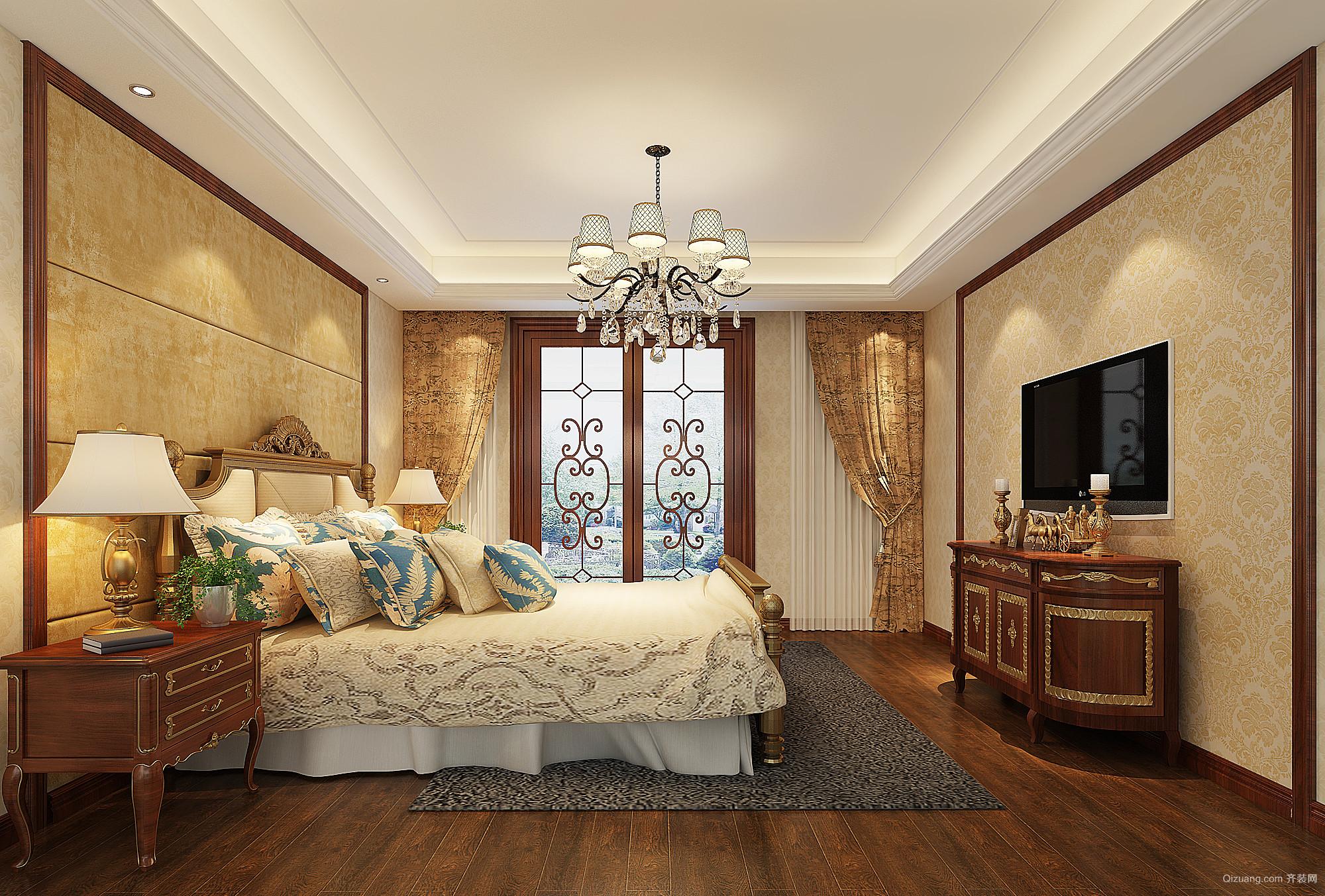 别墅中式风格装修效果图实景图