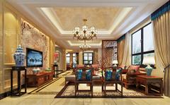 别墅中式风格装修案例
