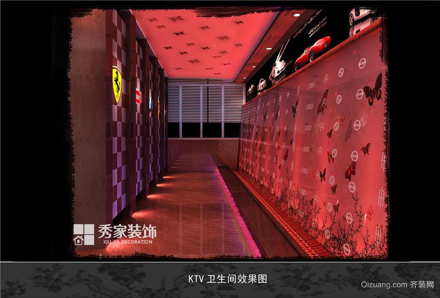 红顶KTV混搭风格装修效果图实景图