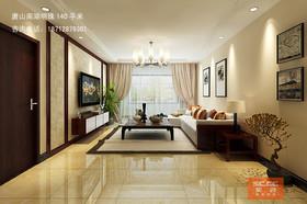 唐山南湖明珠140平米演绎简约中式之美