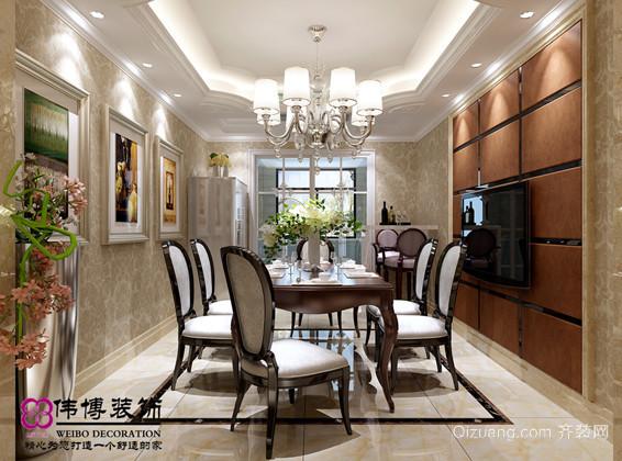尚城国际欧式风格装修效果图实景图