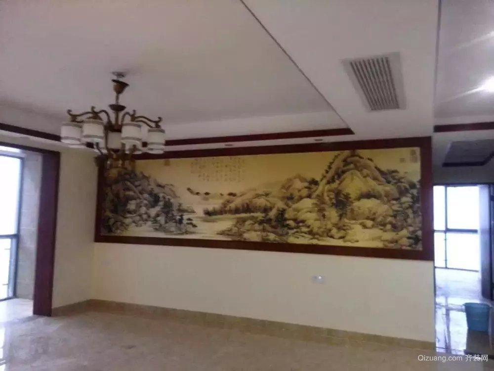 湘江世纪城中式风格装修效果图实景图