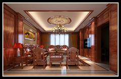 永康方岩别墅中式风格装修案例