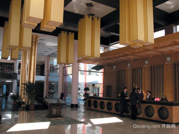 会议中心现代简约装修效果图实景图