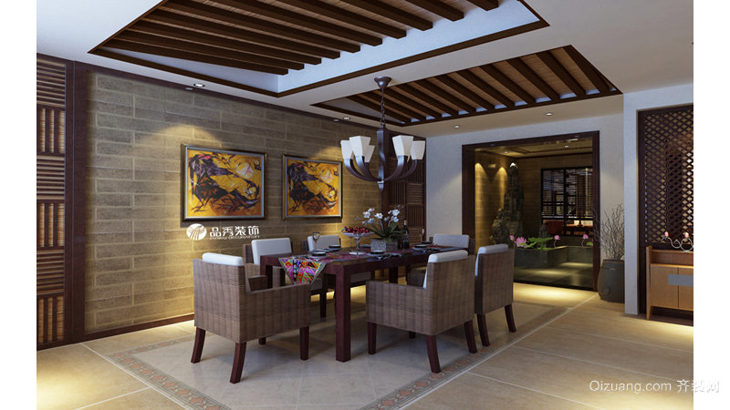 昆华苑◆东南亚风格其他装修效果图实景图