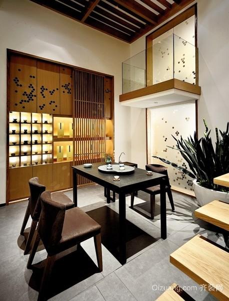 茶室古典风格装修效果图实景图