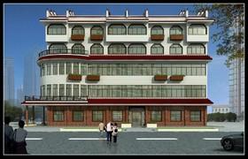 红蚂蚁办公楼装修设计案例
