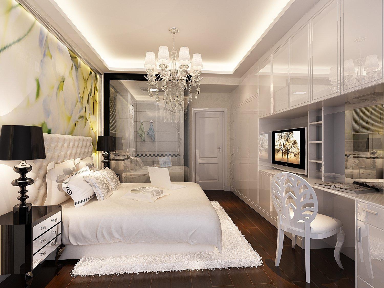 天禧公寓现代简约装修效果图实景图