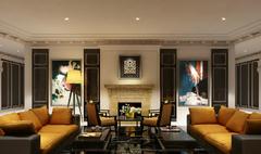 欧式风格-茶楼大厅