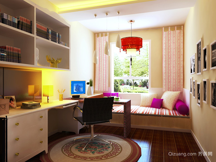 明珠家园现代简约装修效果图实景图