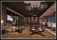 杭州咖啡廳混搭風格裝修案例