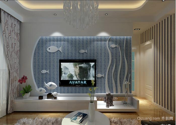 建业·阳光国际现代简约装修效果图实景图