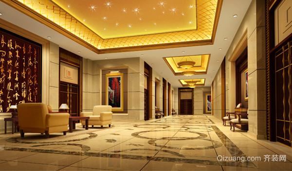 酒店2现代简约装修效果图实景图