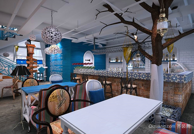 东南亚餐厅其他装修效果图实景图