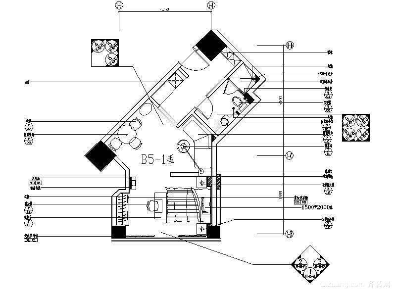 淞南三村张先生单身公寓现代简约装修效果图实景图