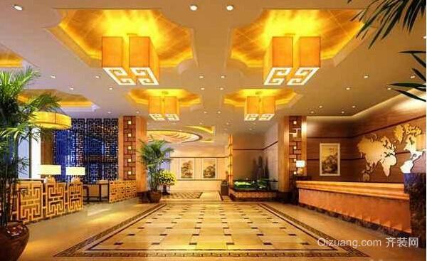 酒店3现代简约装修效果图实景图