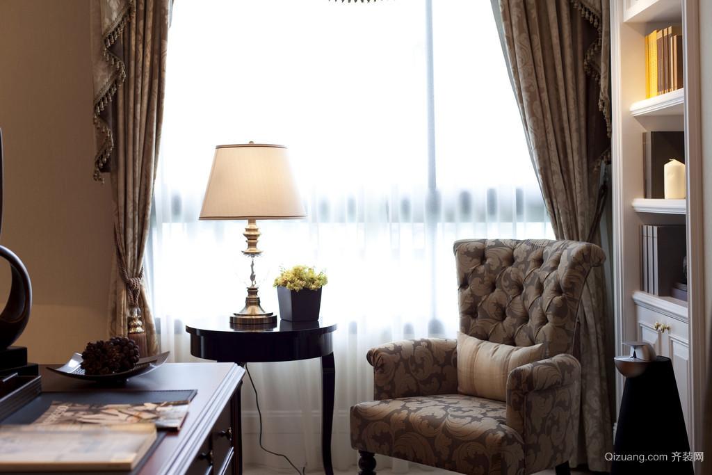 东方高尔夫别墅欧式风格装修效果图实景图