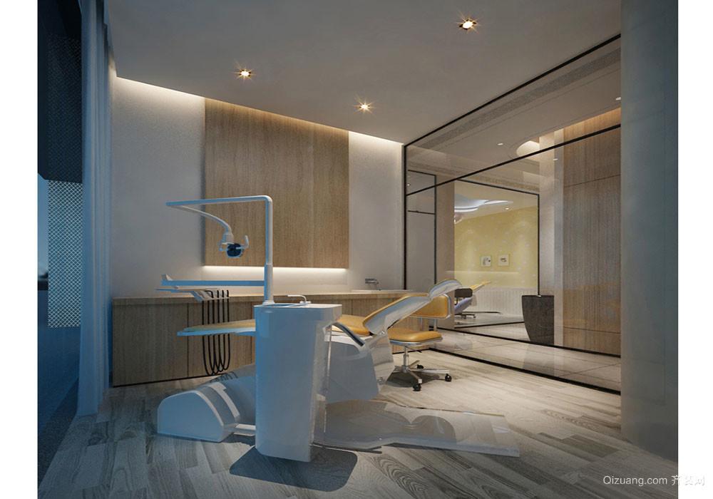 牙科诊所现代简约装修效果图实景图