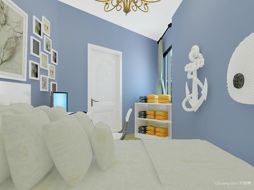 和兴家园地中海风格装修效果图实景图