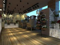 黄金广场咖啡与花店
