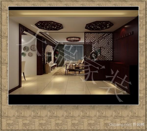仁和公寓中式风格装修效果图实景图