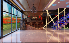 KTV混搭风格装修案例