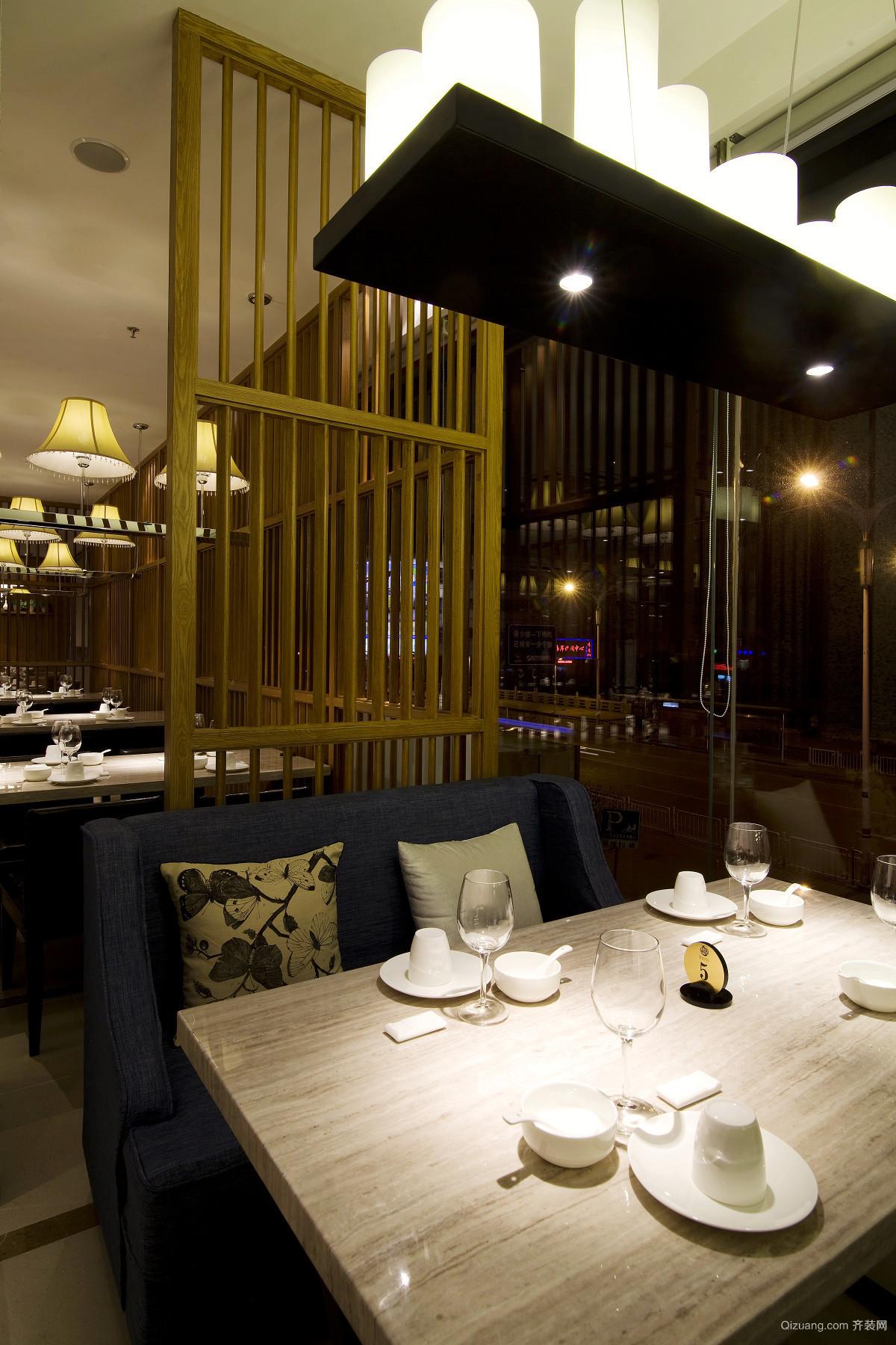 镇江饭店中式风格装修效果图实景图